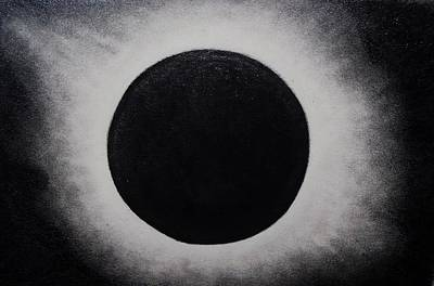 Eclipse Drawing - Syzygy by Nick Young
