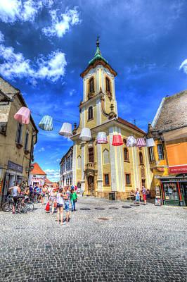 Photograph - Szentendre Town Budapest by David Pyatt