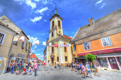 Photograph - Szentendre Town Hungary by David Pyatt