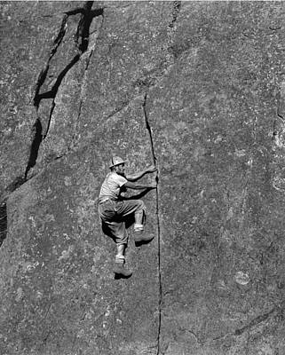 Photograph - T-104604 Ed Cooper On Angel Crack At Castle Rock 1060 by Ed Cooper Photography