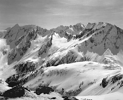 Photograph - T-404403 Winter View North Cascades by Ed Cooper Photography