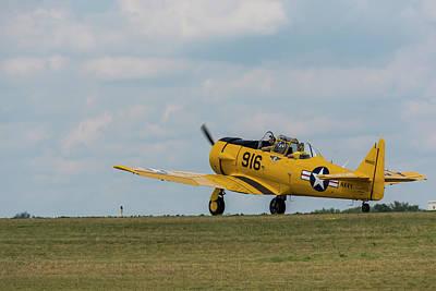 Music Figurative Potraits - T-6 Texan Airplane 13 by John Brueske