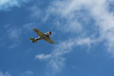 Abstract Stripe Patterns Rights Managed Images - T-6 Texan Airplane 9 Royalty-Free Image by John Brueske