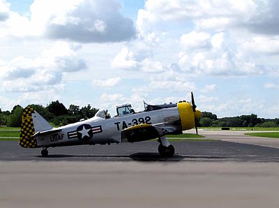 Photograph - T-6 Texan by Chris Mercer