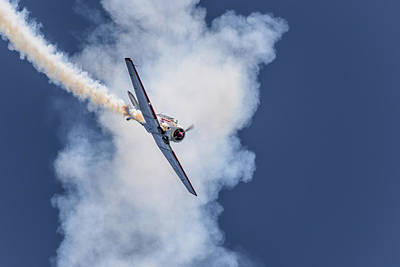 Photograph - T-6 Texan by Keith Boone