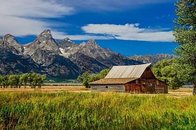 Photograph - T. A. Moulton Barn, Grand Teton National Park by Marilyn Burton
