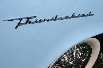Antique Automobiles Photograph - T Bird by DJ Florek