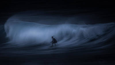 T E N S E Art Print by Toby Harriman