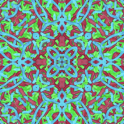 T H U - Pattern Art Print