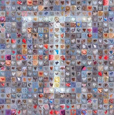 Digital Art - T In Confetti by Boy Sees Hearts