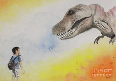 Painting - T Rex 2 by Yoshiko Mishina