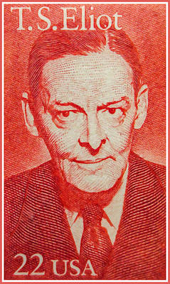 Social History Painting - T. S. Eliot by Lanjee Chee
