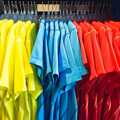 Choose Color Photograph - T Shirts by Tom Gowanlock