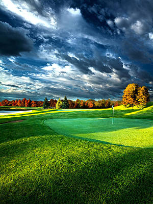 Golf Photograph - T Time by Phil Koch