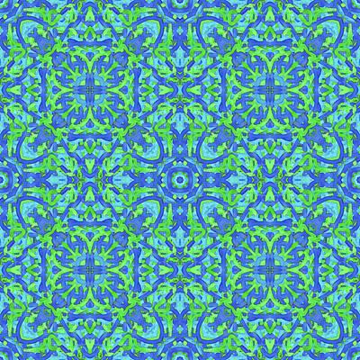T U E - Multi Pattern Art Print