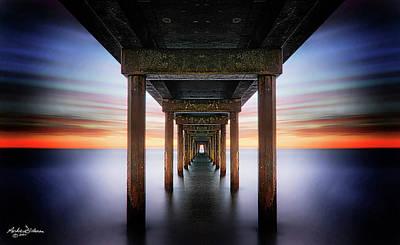 Photograph - T U N N E L V I S I O N by Andrew Dickman