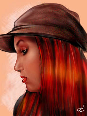 Painting - T-whizzle by Pete Tapang