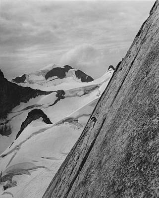 Photograph - T202705 Layton Kor On First Ascent Of Pigeon Spire by Ed  Cooper Photography