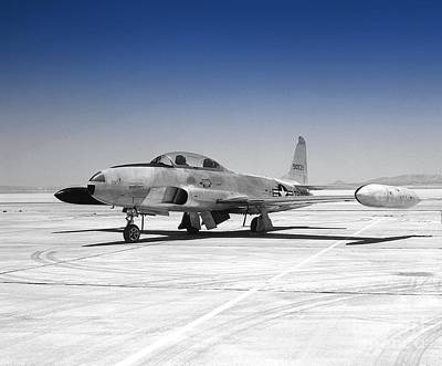 Photograph - T33 A Jet by Greg Moores