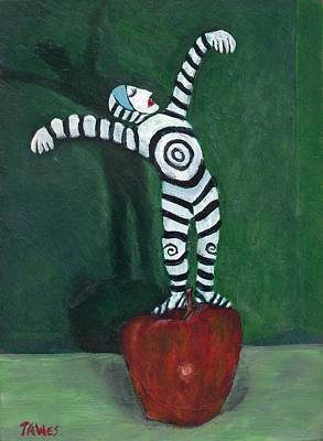 Excel Painting - Ta-dah by Dennis Tawes