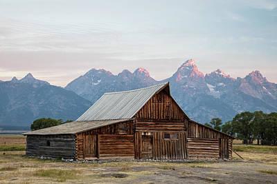 Photograph - T.a. Moulton Barn Grand Tetons Sunrise by John McGraw