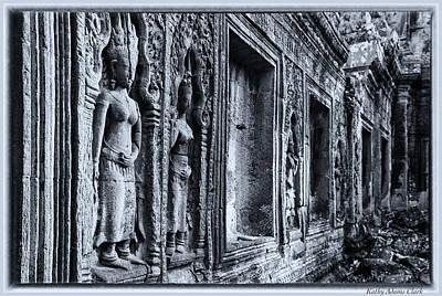 Photograph - Ta Phrom Cambodia by Kathy Adams Clark