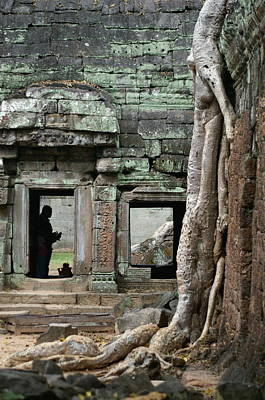 Tree Roots Photograph - Ta Prohm Prayers by Jessica Rose