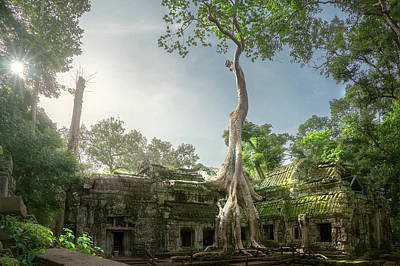 Photograph - Ta Prohm Temple  by Anek Suwannaphoom