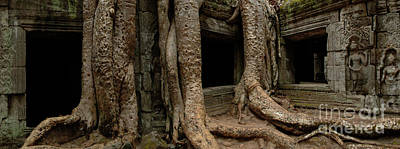 Photograph - Ta Prohm Silence And I by Bob Christopher
