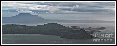 Wall Art - Photograph - Taal Volcano by Christine Mlynarchuk