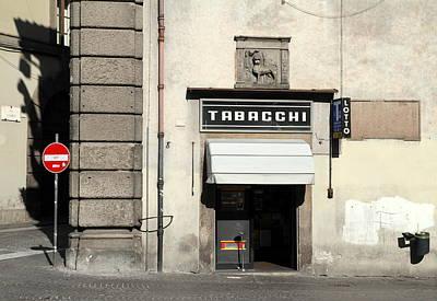 Photograph - Tabacchi by Valentino Visentini
