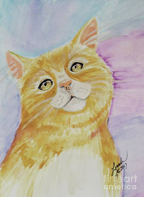 Painting - Tabby Cat by Lorah Tout