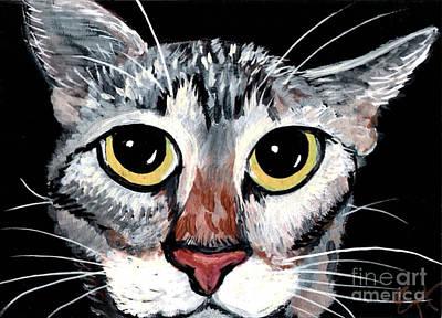 Tabby Eyes Art Print by Elaine Hodges