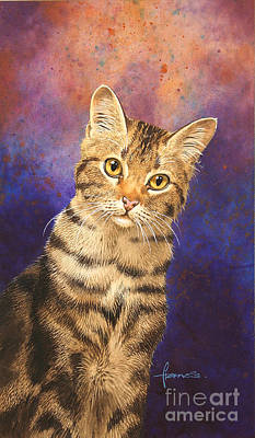 No People Painting - Tabby by John Francis