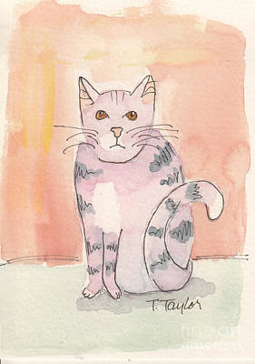 Painting - Tabby by Terry Taylor
