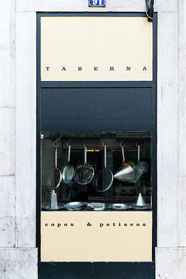 Portugal Photograph - Taberna by Steven Richman