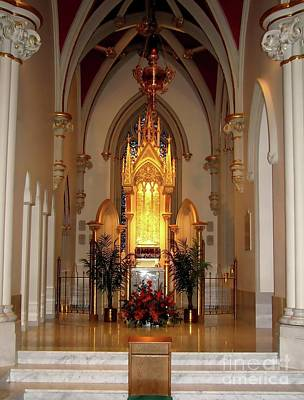 Photograph - Tabernacle At Saint Josephs Cathedral Buffalo New York by Rose Santuci-Sofranko