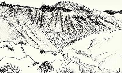 Drawing - Tabernas by Chani Demuijlder