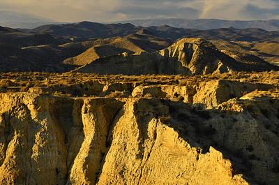 Tabernas Desert Spain Art Print