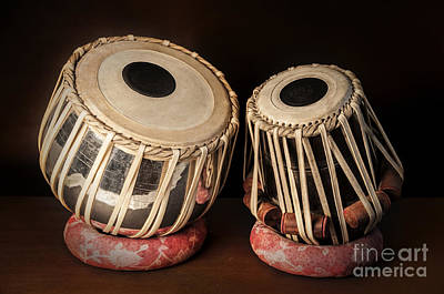 Photograph - Tabla Musical Instrument by Charuhas Images