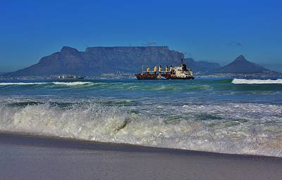 Cape Town Photograph - Table Bay by Stacie Gary