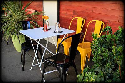 Photograph - Table For Four by Bonnie Follett
