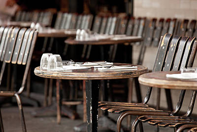 Photograph - Table For Two by John Magyar Photography