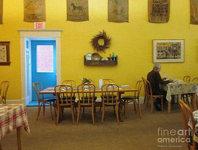 Photograph - Table For One by Kathie Chicoine