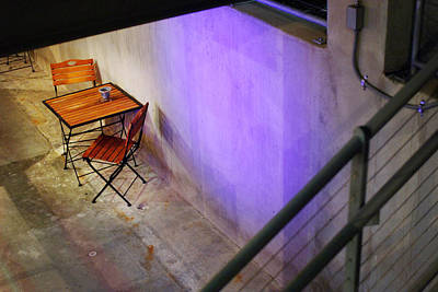 Photograph - Table For Two by Jill Reger
