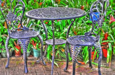 Movies Star Paintings - Table For Two by Kathleen Struckle