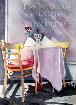 Painting - Table For Two by Sherri Bails