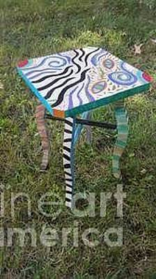 Photograph - Table by Michelle Jacobs-anderson