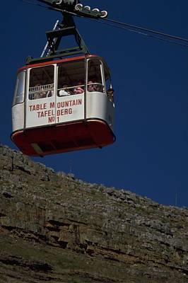 Travel Pics Royalty-Free and Rights-Managed Images - Table Mountain Cable Car by Travel Pics
