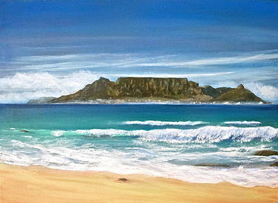 Painting - Table Mountain by Heather Matthews